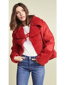 Alissa Sherpa Jacket by Minkpink