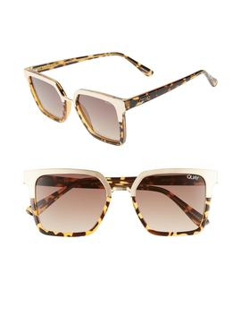 X Jaclyn Hill Upgrade 55mm Square Sunglasses by Quay Australia
