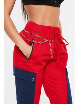 Silver Chain Style Belt by Missguided