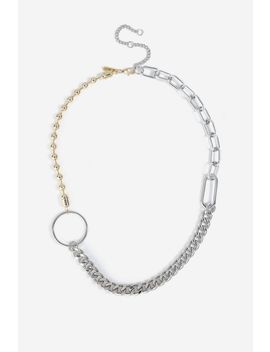**Multi Chain Chunky Necklace by Topshop
