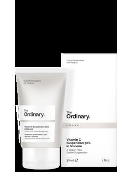 Vitamin C Suspension 30 Percents In Silicone by The Ordinary