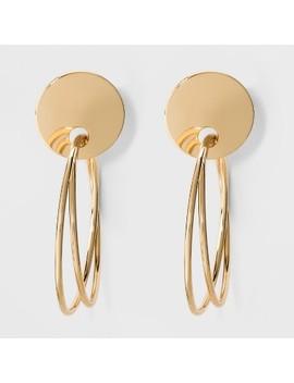 Sugarfix By Bauble Bar Multi Hoop Earrings   Gold by Sugarfix By Bauble Bar