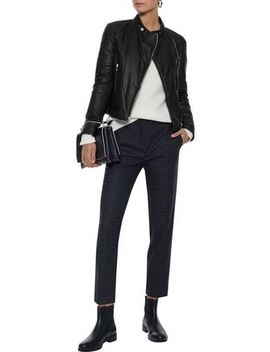 Albinson 2.0 Quilted Leather Biker Jacket by Belstaff