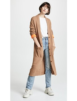 Long Cardigan by Tibi
