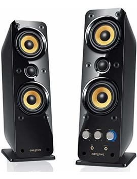 Creative Giga Works T40 Series Ii 2.0 Multimedia Speaker System With Bas X Port Technology by Creative