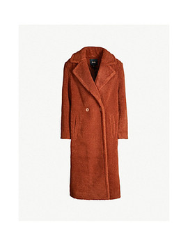 Gourson Faux Shearling Coat by Maje