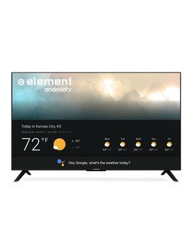 "Element 55"" 4 K Uhd 120 Hz Smart Android Tv With Google Assistant   Black (E4 Sta5517) by Element Electronics"