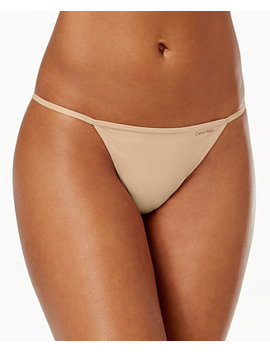 Sleek Model G String Thong D3509 by Calvin Klein