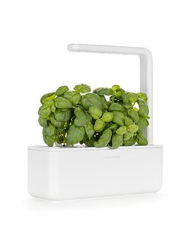 Click & Grow Smart Garden 3 Indoor Gardening Kit (Includes Basil Capsules), White by Click And Grow