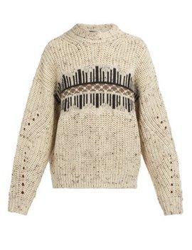 Deason Wool Blend Sweater by Isabel Marant