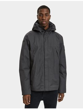 1990 Tb Ins Mnt Jacket In Asphalt Grey by The North Face Black Box