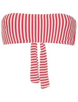Poolside Bandeau Bikini Top by Peony