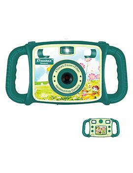 "Prograce Kids Camera Creative Camera 1080 P Hd Video Recorder Digital Action Camera Camcorder For Boys Girls Gifts 2.0"" Lcd Screen With 4 X Digital Zoom And Funny Game(Green) by Prograce"