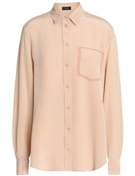 Silk Crepe De Chine Shirt by Joseph