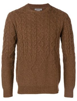 Cable Knit Sweater by Corneliani