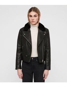 Pataya Leather Lux Biker Jacket by Allsaints