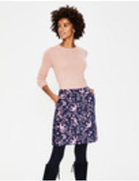 Mimi Velvet Skirt by Boden