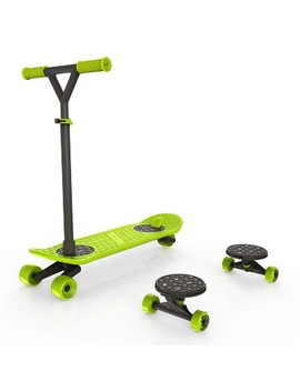 Morf Board Scooter & Skateboard Combo Set   Chartreuse by Morf