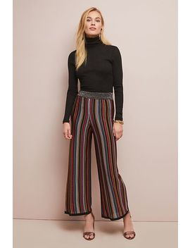 Retro Striped Trousers by Anthropologie