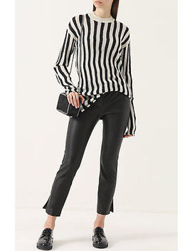 Nwt $395 Helmut Lang Technical Stripe Sweater M by Helmut Lang