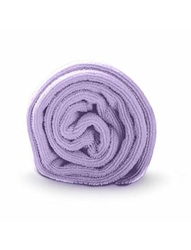 Luxe Beauty Essentials Microfiber Hair Towel For Drying Curly, Long & Thick Hair (20 X 40, Purple) by Luxe Beauty Essentials