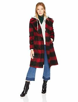 Kendall + Kylie Women's Double Breasted Wool Coat, by Kendall+2 B+Kylie