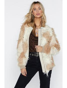 Hope Fur The Best Faux Fur Jacket by Nasty Gal