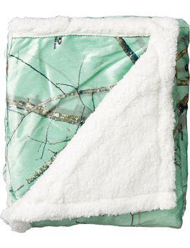 Field & Stream Sherpa Throw Blanket by Field & Stream