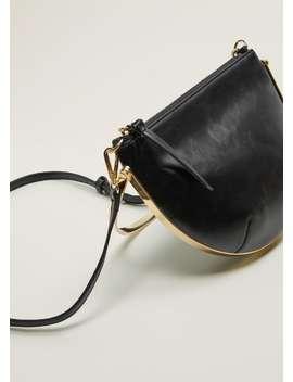 Metalik Halkalı çanta by Mango