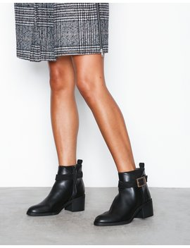 Block Buckle Detail Boot by River Island