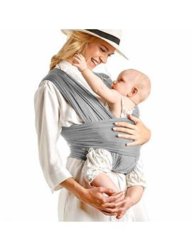 Baby Wrap Carrier Hands Free   Breathable Soft And Stretchy Baby Sling Carrier, Ergonomic, Safe & Secure For Newborns, Babies & Infants, No Back... by Claro Baby