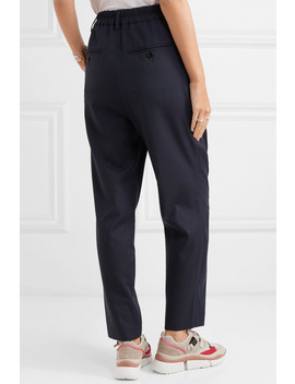 Nimura Houndstooth Wool Tapered Pants by Isabel Marant Étoile