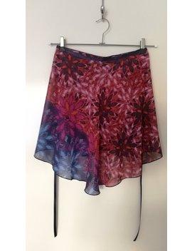 Ballet Wrap Skirt, Dance Skirt, Chiffon Skirt, Rehearsal Skirt: Tropicana by Etsy