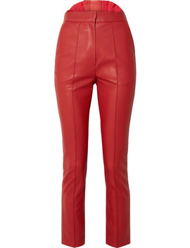 Faux Leather Skinny Pants by Pushbutton