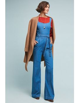 Ella Moss Magnolia Belted Denim Jumpsuit by Ella Moss