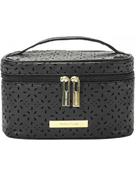 Midnight Pierce Train Case Set With Removable Pencil Case by Tartan + Twine