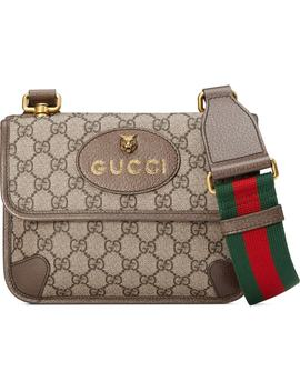 Small Gg Supreme Canvas Messenger Bag by Gucci