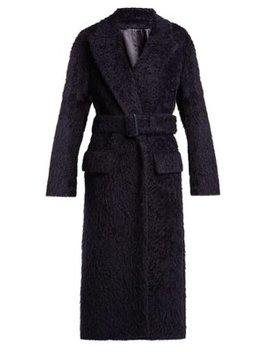 Paddington Belted Alpaca Blend Coat by Joseph
