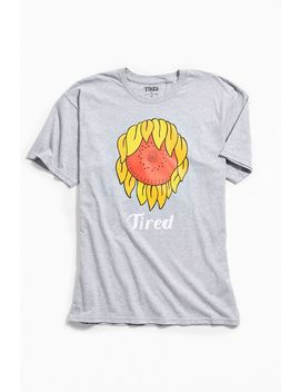 Tired Sunflower Mark Tee by Tired