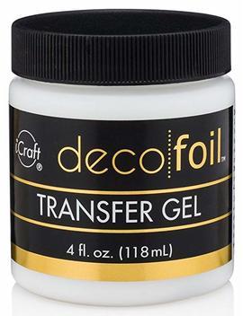 I Craft Deco Foil Transfer Gel, 4 Oz by I Craft