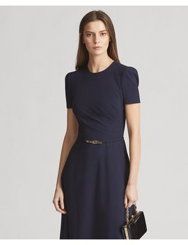 Eldridge Wool Blend Dress by Ralph Lauren