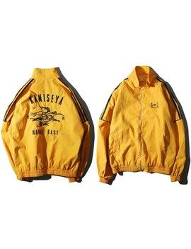 Yellow Vintage Windbreaker Jacket, 80s 90s Loose Fit Jacket, Long Sleeve  Lightweight Windbreaker Athletic Collapsible, Hip Hop Zip Up by Etsy