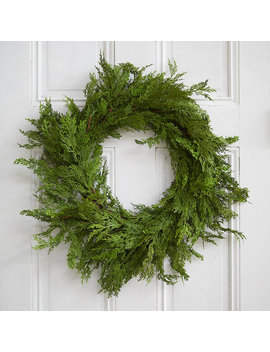 Faux Cedar Wreath by Terrain