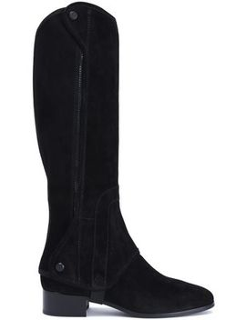 Suede Boots by Tory Burch