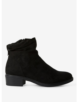 Wide Fit 'monaco' Western Boots by Dorothy Perkins