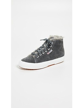 2795 Faux Fur Lined Sneakers by Superga