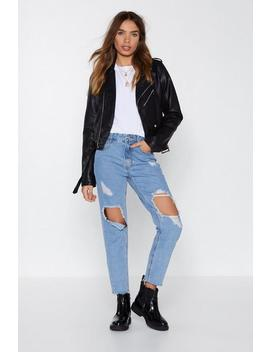 A Hole New Ball Game Distressed Jeans by Nasty Gal