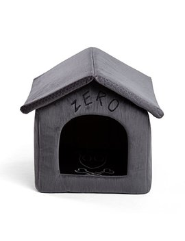 Disney Nightmare Before Christmas Zero Portable Pet House Dog Bed / Cat Bed With Detachable Top, Embroidery, Machine Washable, Dirt/Water Resistant Bottom (Available In Two Sizes) by Disney