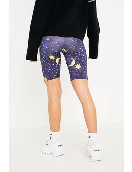 Urban Renewal Remnants Sun And Moon Cycling Shorts by Urban Renewal