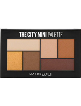 Online Only The City Mini Eyeshadow Palette Hi Rise Sunset by Maybelline